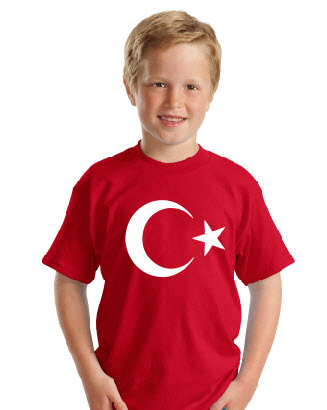 kırmızı tişört okul tişörtleri izmir tişört baskı
